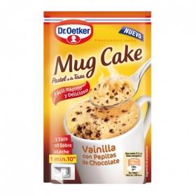 Pastel a la taza de vainilla Mug Cake