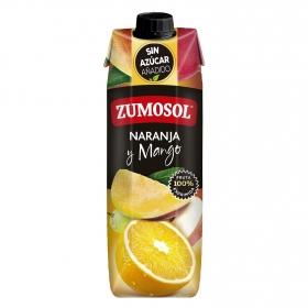 Zumo de naranja y mango