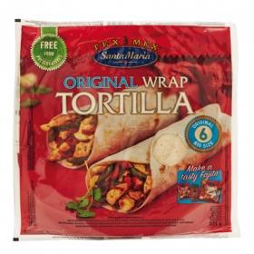 Tortilla wrap Santa Maria 371 g.