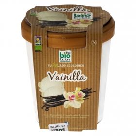 Helado de vainilla ecológico Bio Factory sin gluten 500 ml.