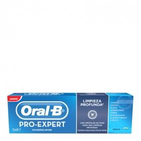 Dentífrico Pro-Expert limpieza profunda Oral-B 75 ml.