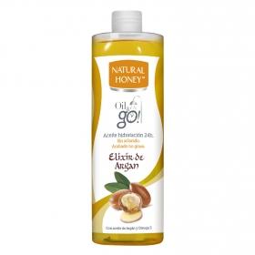 Aceite corporal Elixir de Argan bajo la ducha