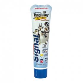 Pasta dental infantil sabor frutal Signal 50 ml.