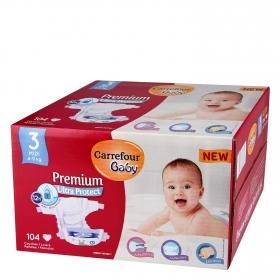 Pañal Premium T3 (4-9 kg.)