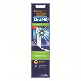 Recambio cepillo dental eléctrico Cross Action Oral-B 2 ud.