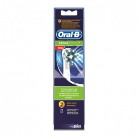 Recambio cepillo dental eléctrico Cross Action Oral-B 2 ud.