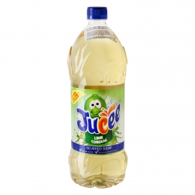 Refresco de lima Jucee sin azúcar con gas botella 1,5 l.