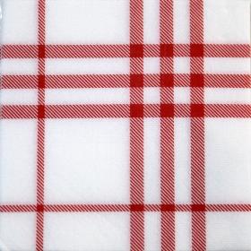 Servilletas 2 capas Celulosa  Rojo