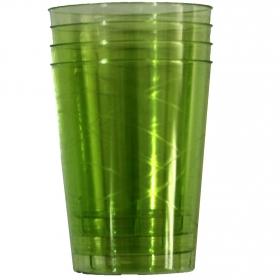 Vasos redondos Plastico  Verde