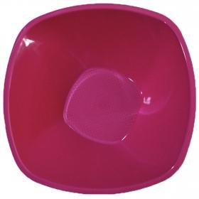 Set de Ensaladera Alto de Plástico CARREFOUR HOME 2pz - Fucsia
