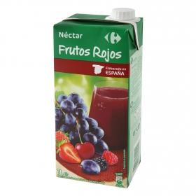 Néctar de frutos rojos Carrefour brik 1 l.