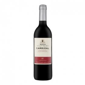 Vino D.O. Rioja tinto crianza Carrizal 75 cl.