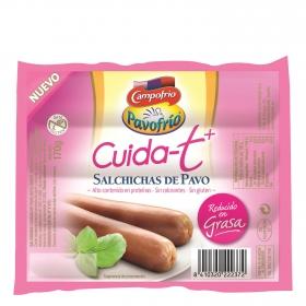 Salchichas de pavo Campofrío - Cuida-t + 170 g.
