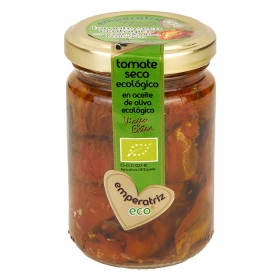 Tomate seco ecológico en aceite de oliva