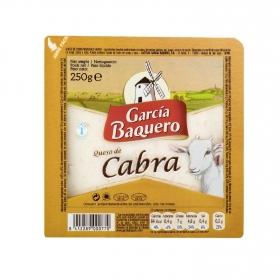 Queso semicurado de cabra García Baquero cuña 1/8, 250 g