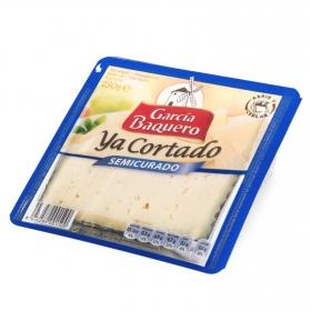 Queso semicurado mezcla ya cortado García Baquero cuña 1/8, 250 g