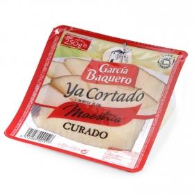 Queso curado mezcla cuña ya cortado García Baquero 250 g