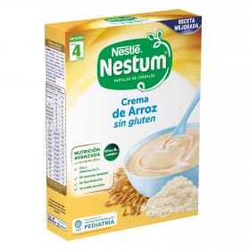Papilla crema de arroz Sin Glúten