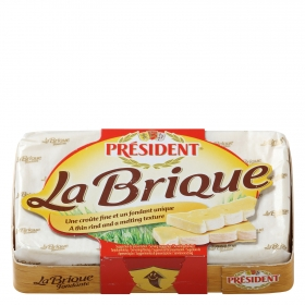Queso camembert La Brique de President 200 g