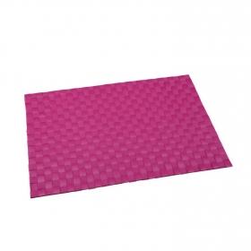 Mantel Individual Cuadrado de Poliester RENBERG 45x30cm - Rosa