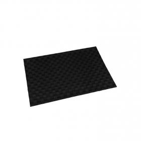 Mantel Individual Cuadrado de Poliester  45x30cm Negro