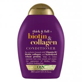 Acondicionador biotina & colágeno OGX 385 ml.