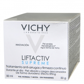 Crema antiarrugas Liftactiv Supreme para piel normal y mixta - 50 ml. Vichy 1 ud.