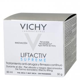 Crema antiarrugas Liftactiv Supreme para piel seca