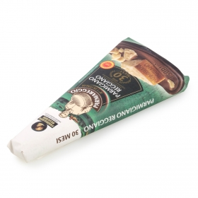 Queso parmigiano reggiano D.O.P. 30 meses curación Parmareggio 250 g