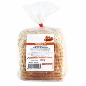 Pan de molde con semillas de amapola Tadricional Panadera 450 g