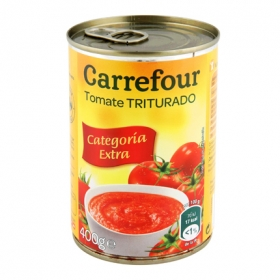 Tomate triturado Carrefour 400 g.