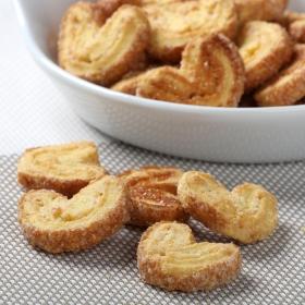Mini palmeritas mantequilla