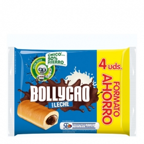 Bollycao leche 4 ud.