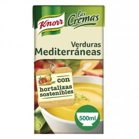 Crema de verduras medite