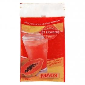 Pulpa de fruta 100 % natural papaya