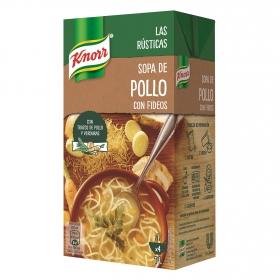 Sopa de pollo con fideos Knorr 1 l.