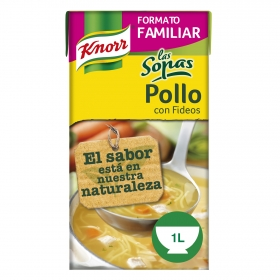 Sopa de pollo de fideos Knorr 1 l.
