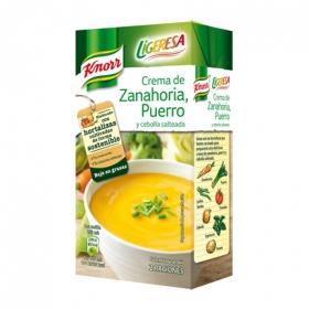 Crema zanahoria y puerro Knorr 500 ml.