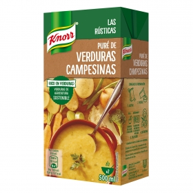 Pure de verduras Knorr 500 ml.