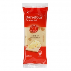 Queso emmental taco Carrefour 250 g