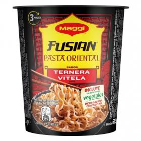Pasta oriental de ternera Fusian Maggi 61,5 g.