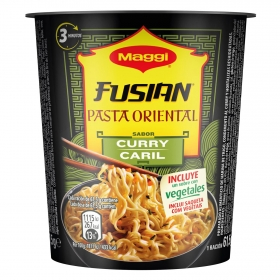 Pasta oriental curry Fusian