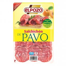 Salchichón de pavo El Pozo 80 g.