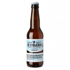 Cerveza artesana Er Boquerón con Agua de Mar botella 33 cl.