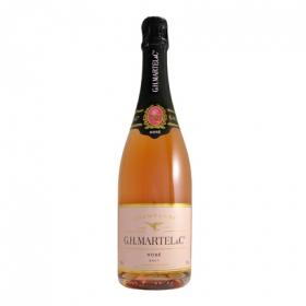 Champagne G.H. Martel brut rosé 75 cl.