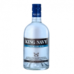 Ginebra King Navy premium 70 cl.
