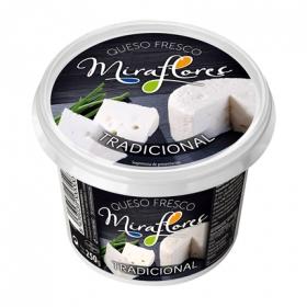 Queso fresco tradicional Miraflores 250 g.