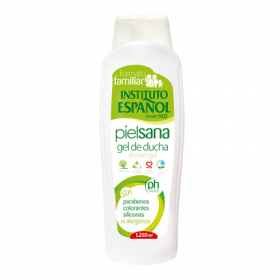 Gel de Ducha piel sana formato familiar Instituto Español 1250 ml.