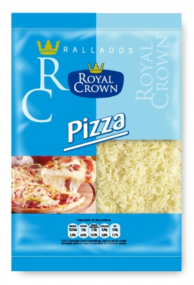 Queso rallado topping pizza Royal 115 g.