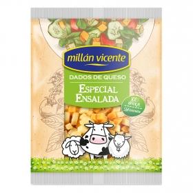 Dados de queso para ensalada Millan Vicente 100 g.